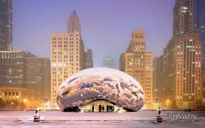 Чикаго. Список зимних городов