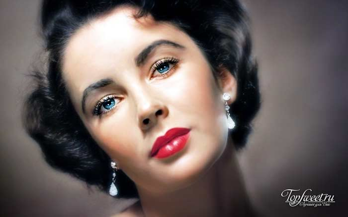 Элизабет Тейлор. Самые красивые глаза в мире