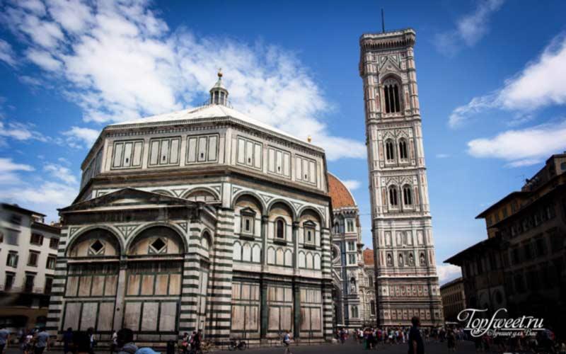 Колокольня Джиотто. ТОП-10 достопримечательностей Флоренции