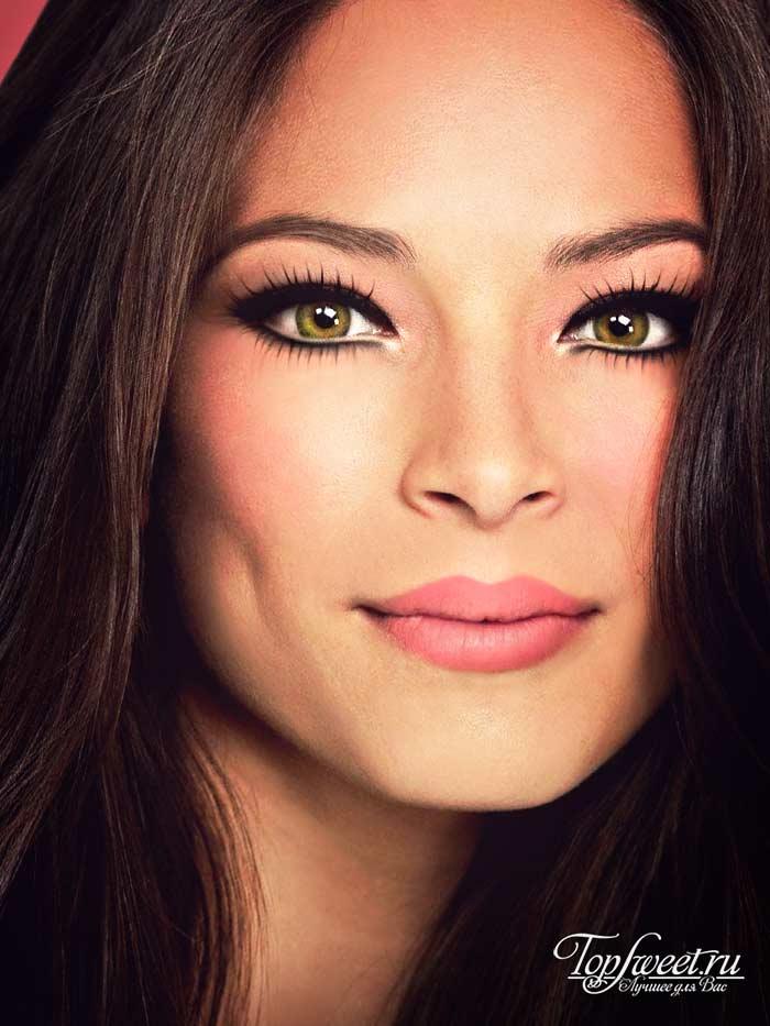 Кристин Кройк. Самые красивые глаза в мире