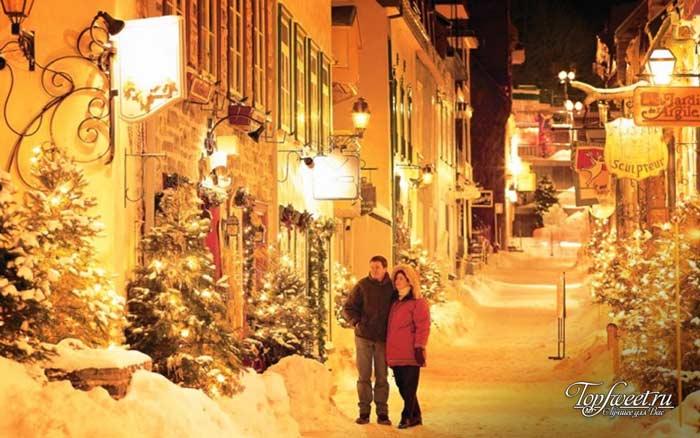 Квебек. Самые красивые зимние города мира