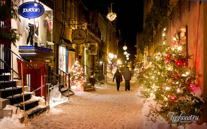 Квебек. Зимние города
