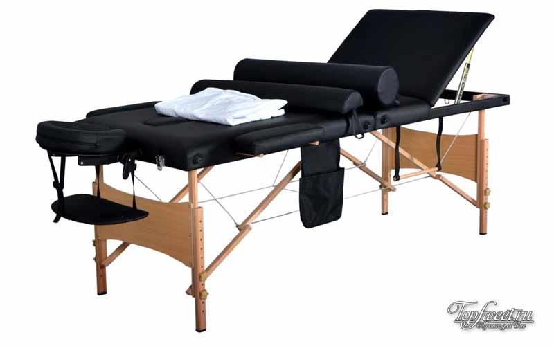 Лучший массажный стол «BLACK»