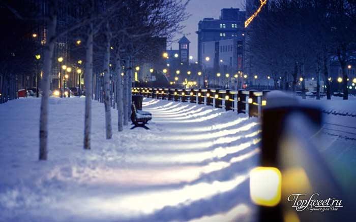 Монреаль. Самые красивые зимние города мира