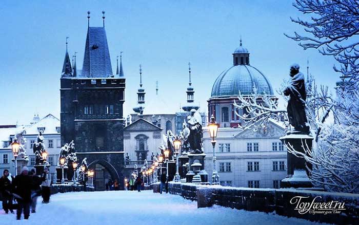 Прага. Самые красивые зимние города мира