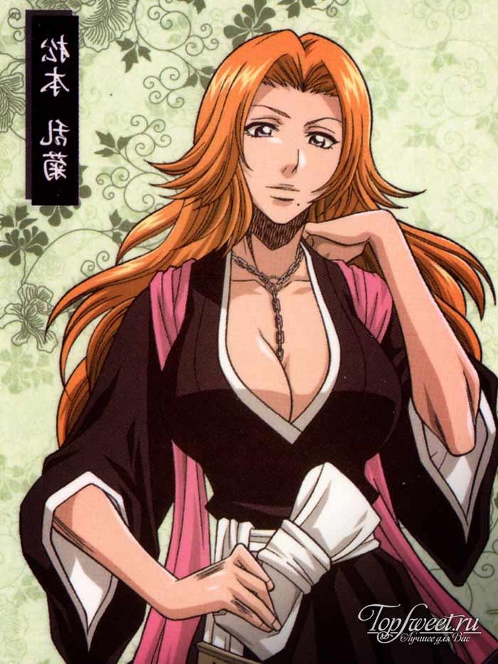 Rangiku Matsumoto. Самые сексуальные героини японского аниме. ТОП-10