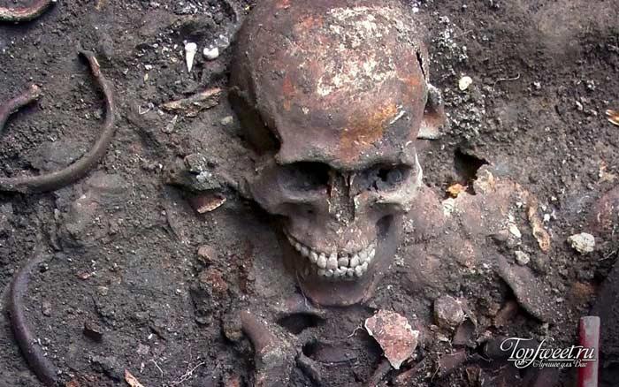 Скелеты в Дареме