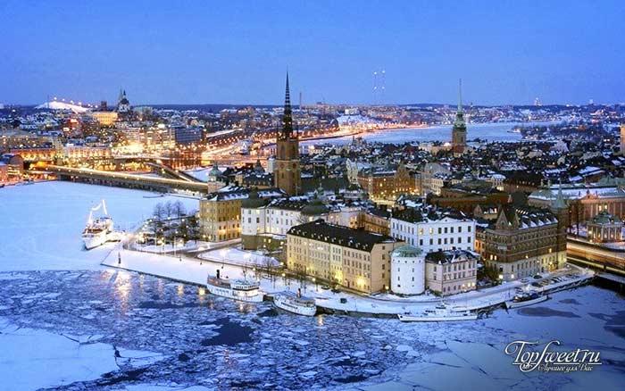 Стокгольм. Самые красивые зимние города мира
