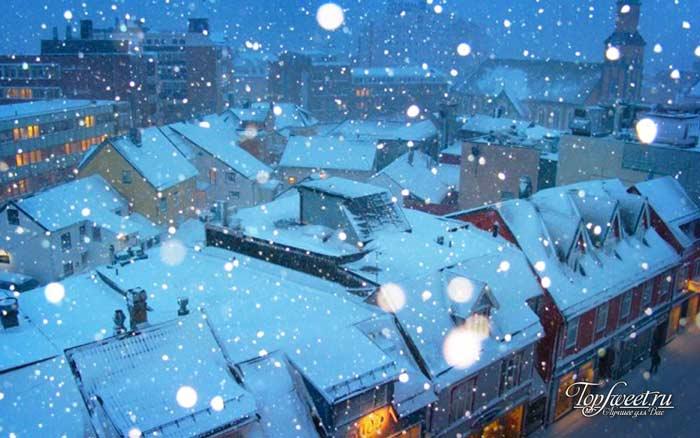 Тромсё. Самые красивые зимние города мира
