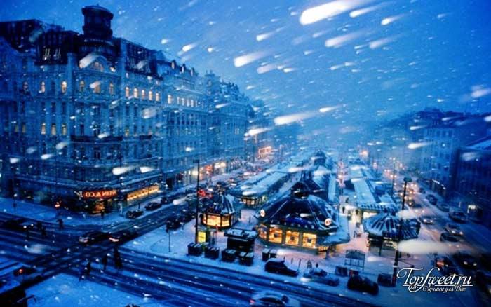Вена. Самые красивые зимние города мира