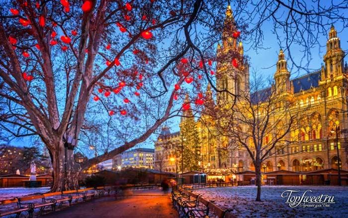 Вена. Рейтинг городов зимой