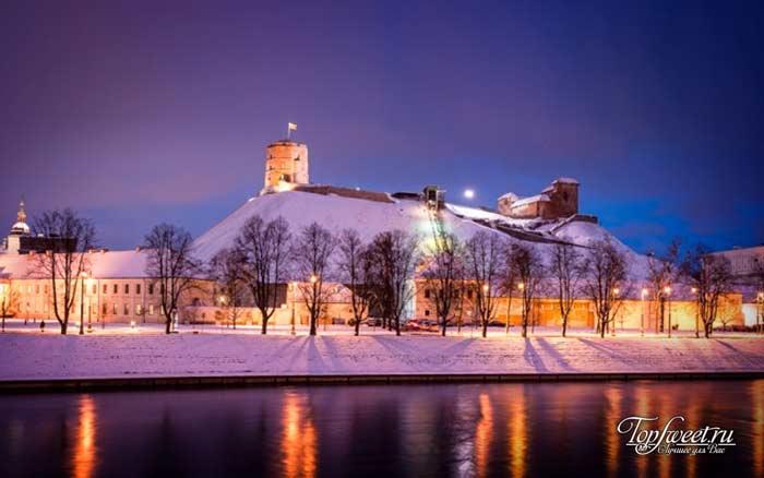 Вильнюс. Самые красивые зимние города мира