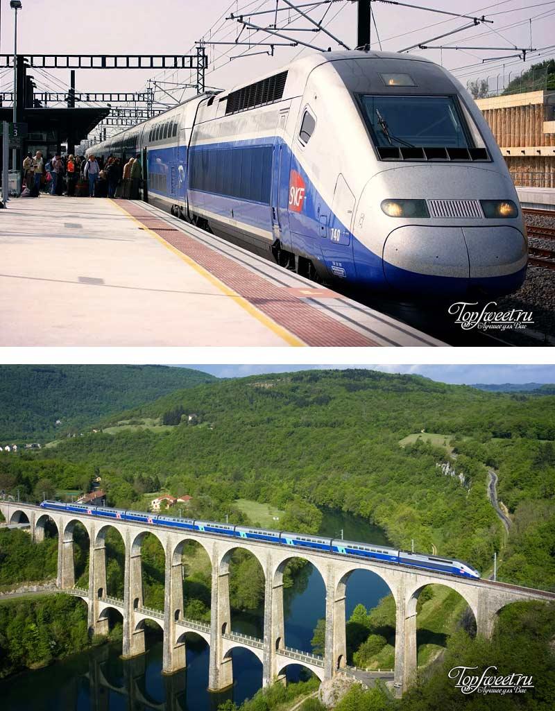 SNCF TGV Duplex. 10 самых быстрых поездов в мире
