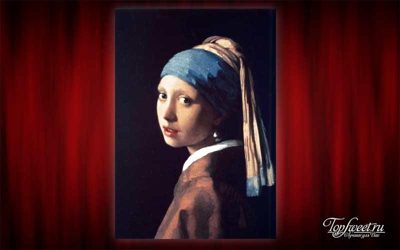 «Девушка с жемчужной сережкой», Ян Вермеер