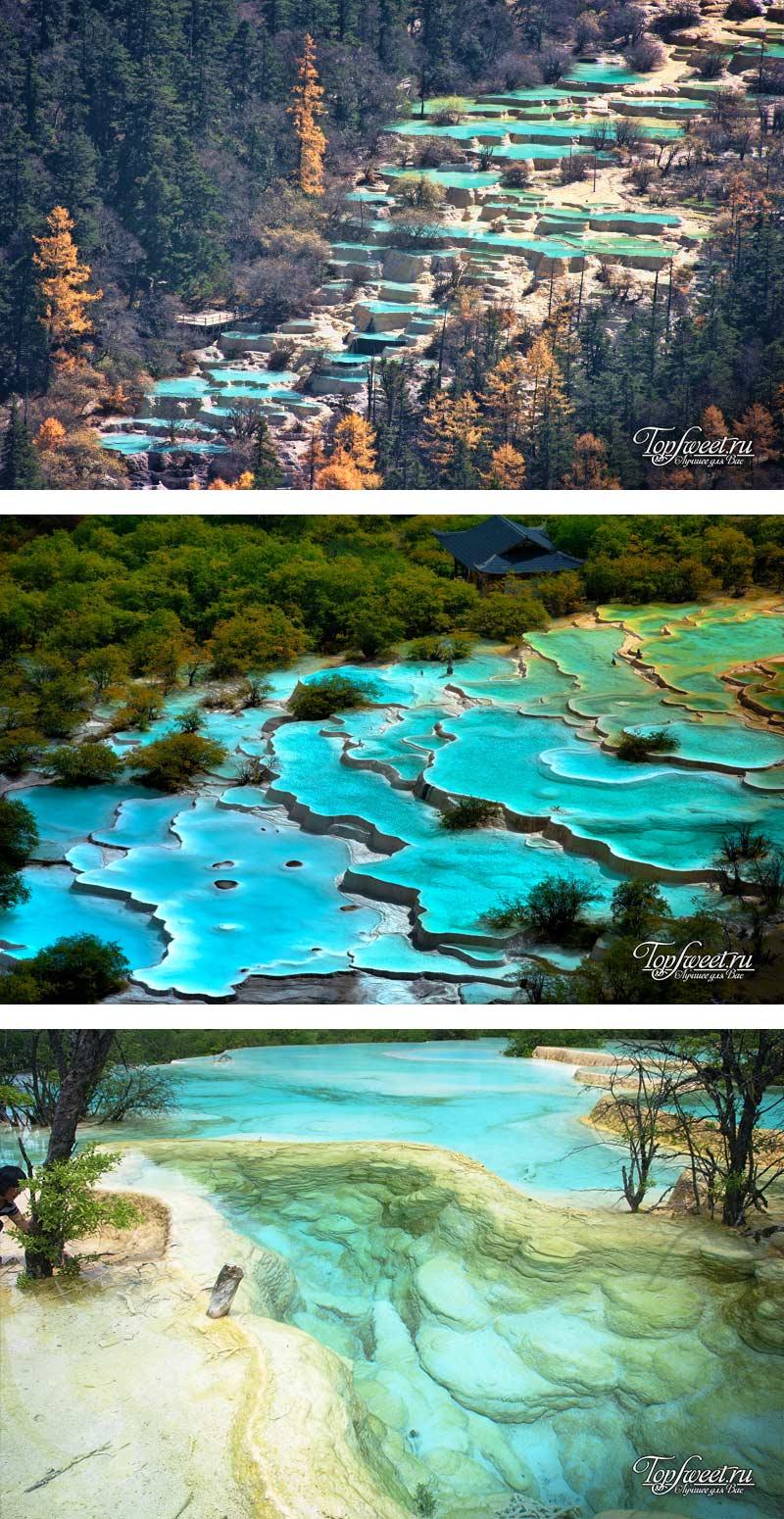 Хуанлун, Китай. ТОП-10 природных чудес