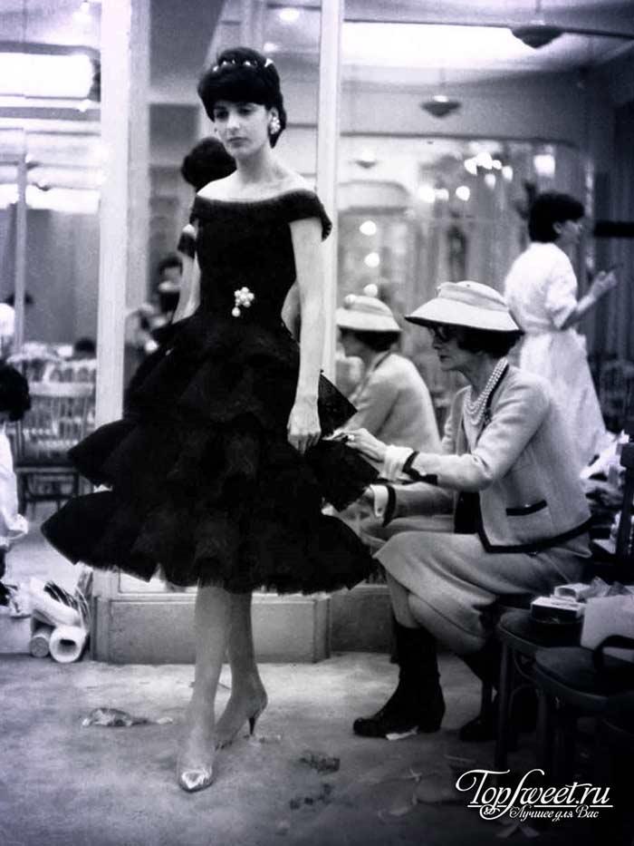 Черное платье Коко Шанель