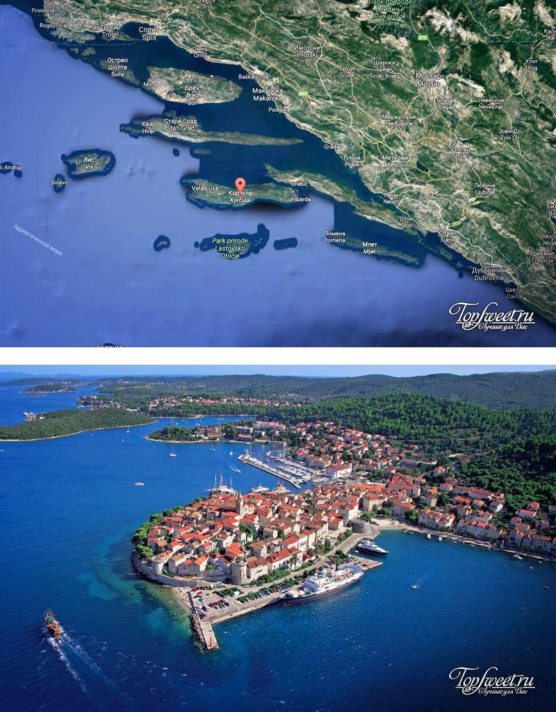 Корчула остров