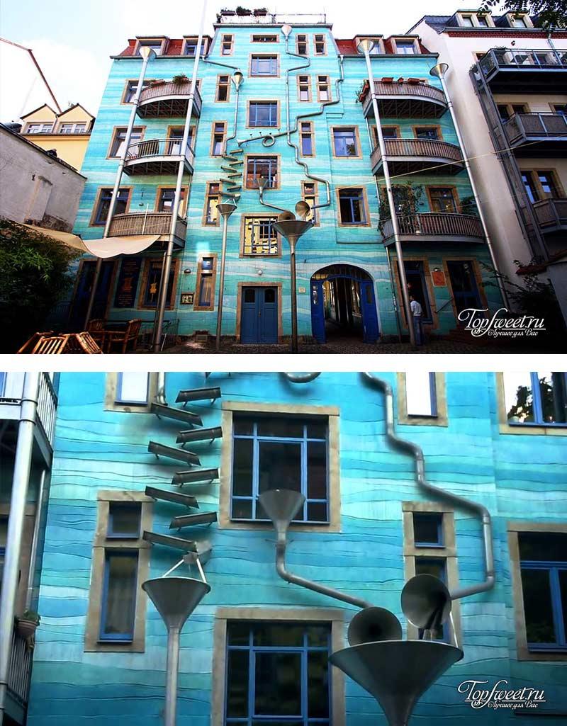 Kunsthofpassage. современные здания Европы