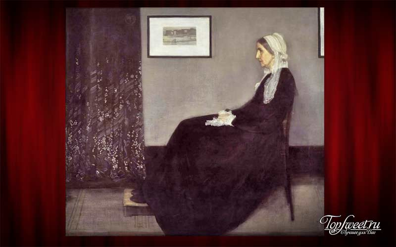 «Мать Уистлера», Джеймс Уистлер