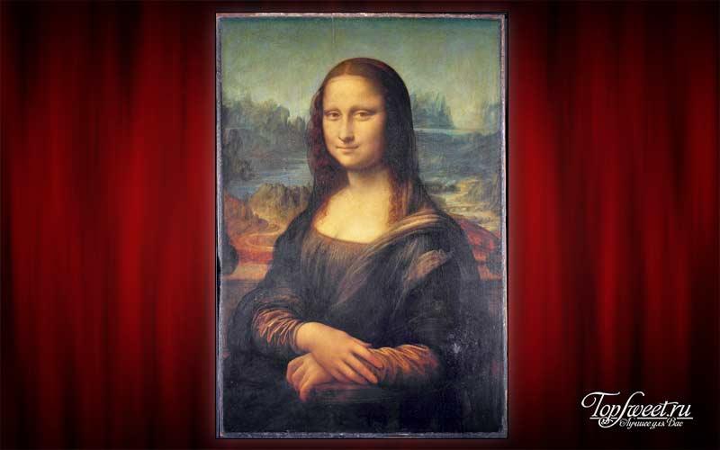 «Мона Лиза», Леонардо да Винчи. Самые известные картины в мире