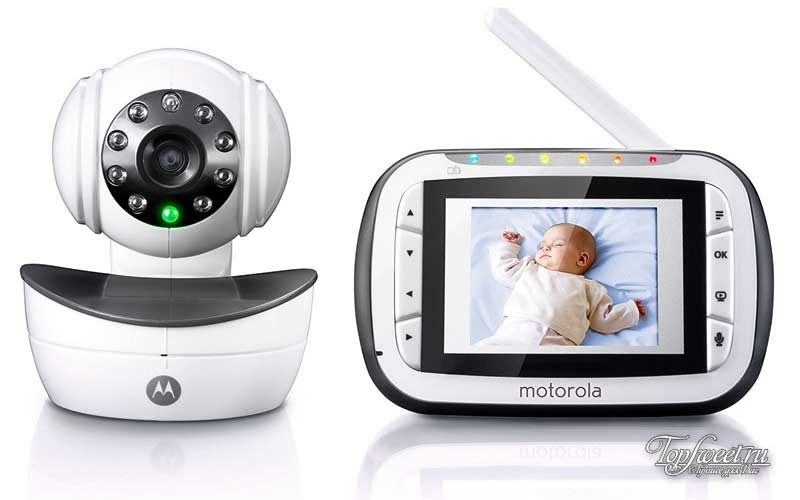 Motorola Digital Video Baby Monitor with Video 2.8 Inch Color Screen