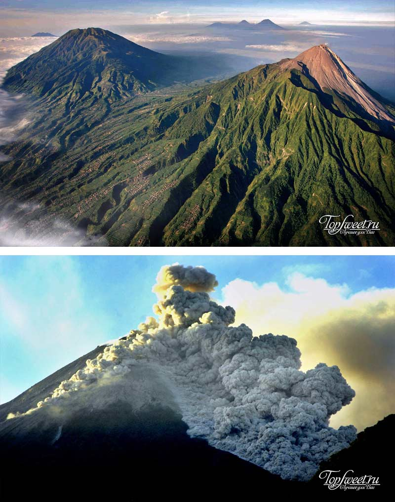 Mount Merapi – Indonesia