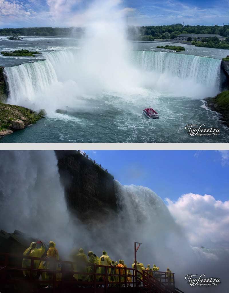Ниагарский водопад. Удивительные водоемы