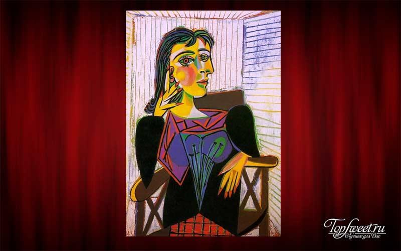 «Портрет Доры Маар», Пабло Пикассо