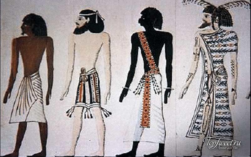 Расовая идентичность древних египтян