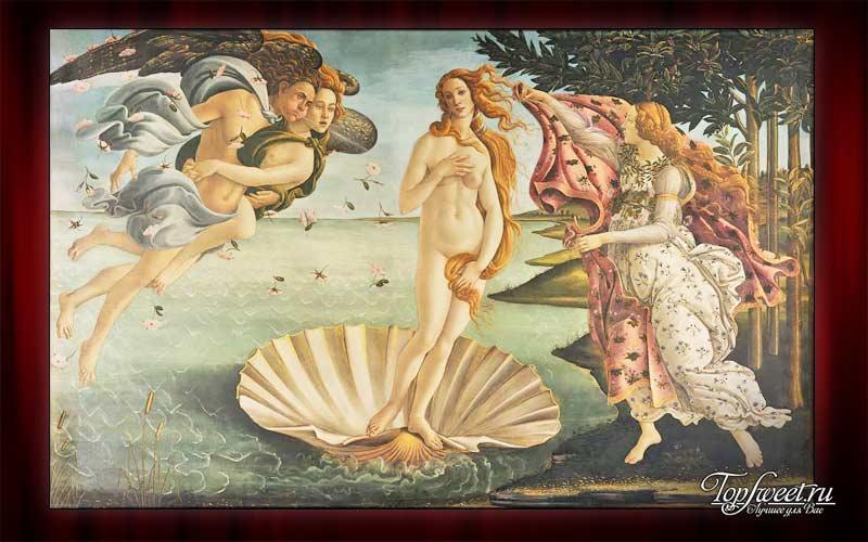 «Рождение Венеры», Сандро Ботичелли