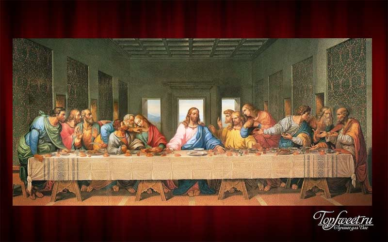 «Тайная вечеря», Леонардо да Винчи