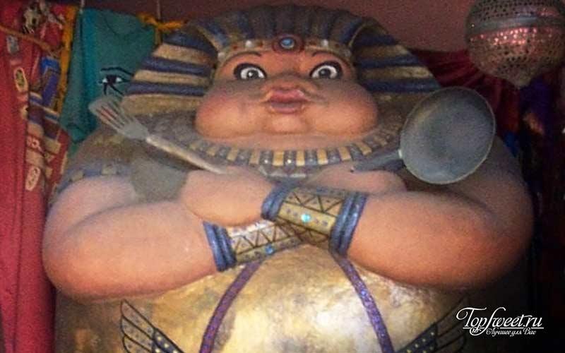 Толстые египтяне