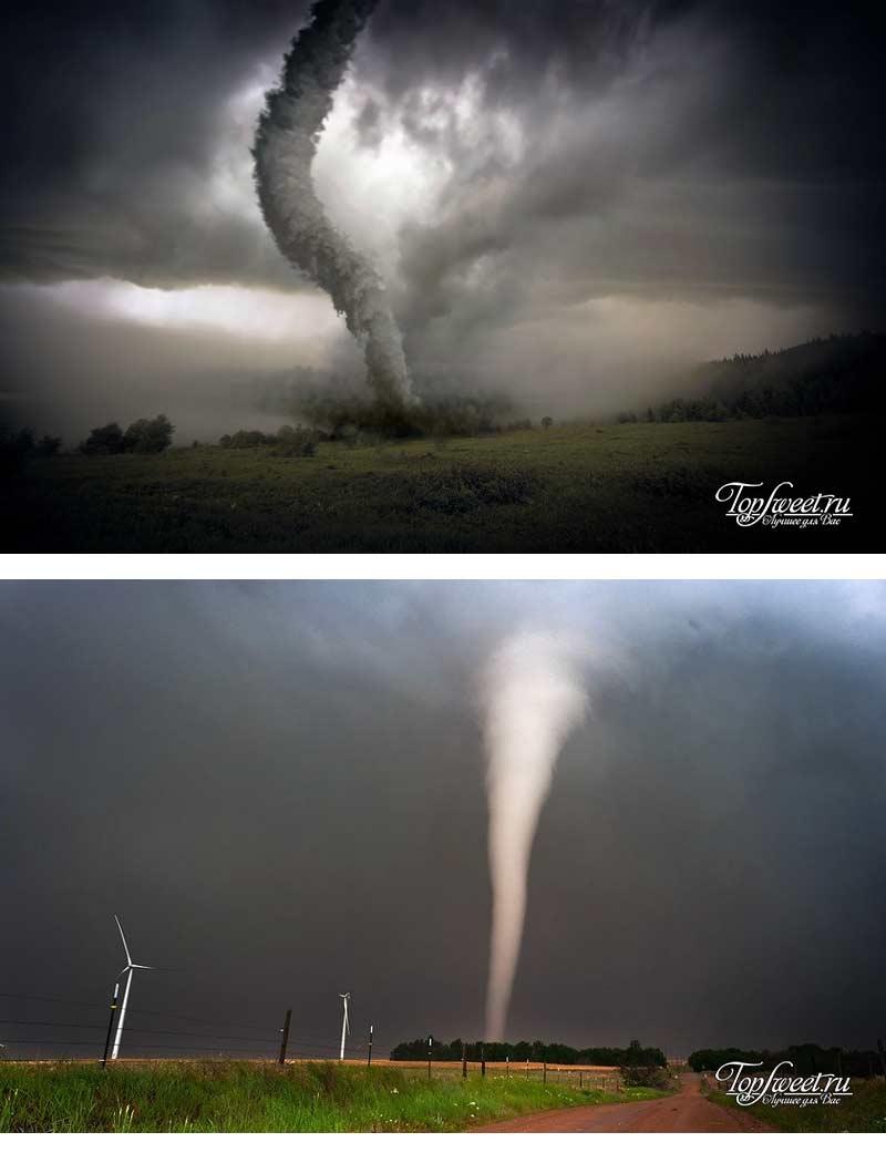 Торнадо. Самые опасные природные стихийные бедствия на Земле
