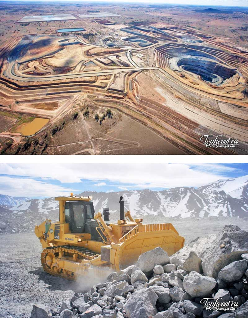 Veladero, Argentina, Крупнейшие месторождения золота