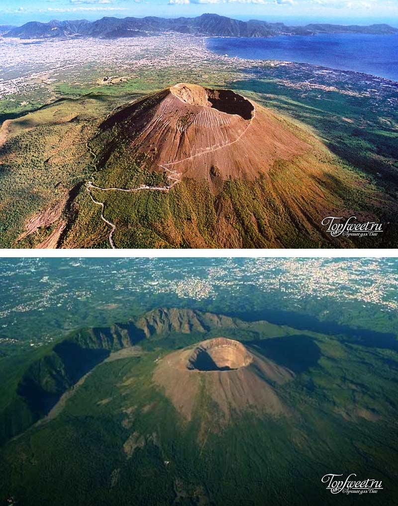 Везувий, самые активные и опасные вулканы мира