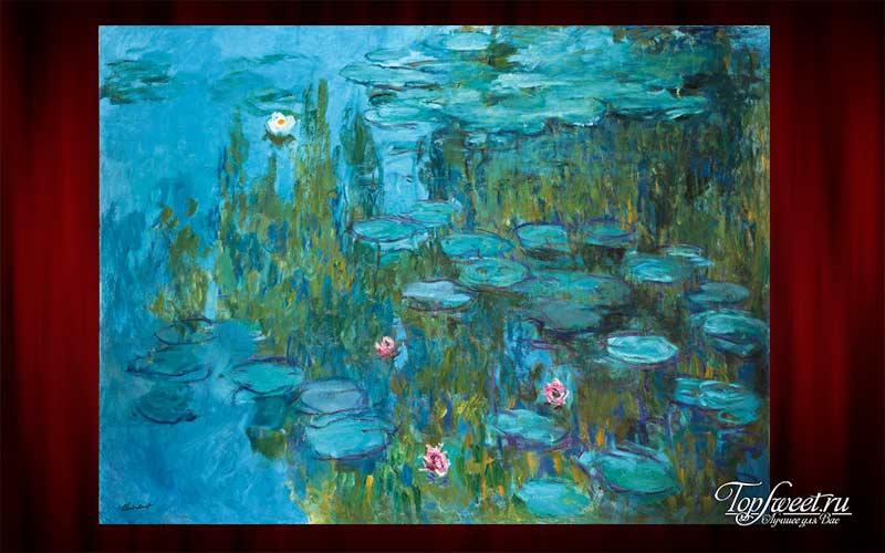 «Водяные лилии», Клод Моне