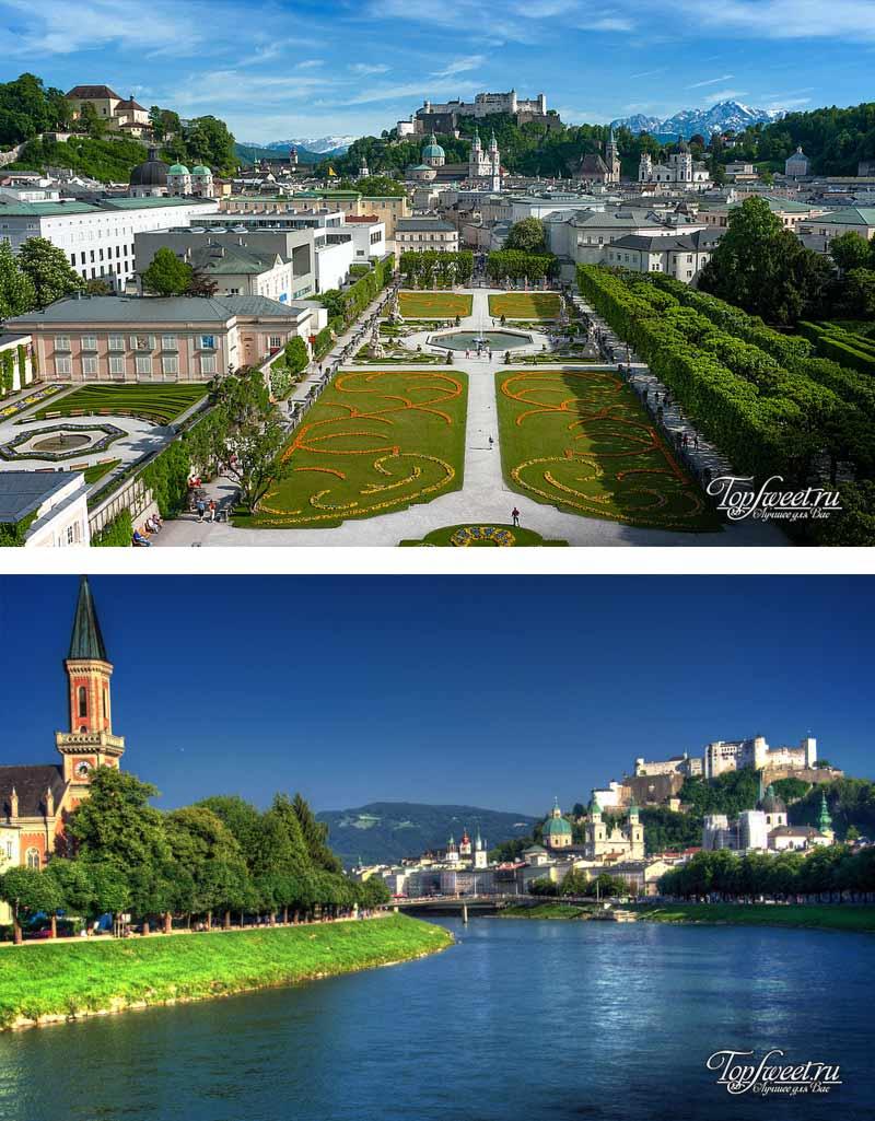 Зальцбург. Лучшие места Австрии
