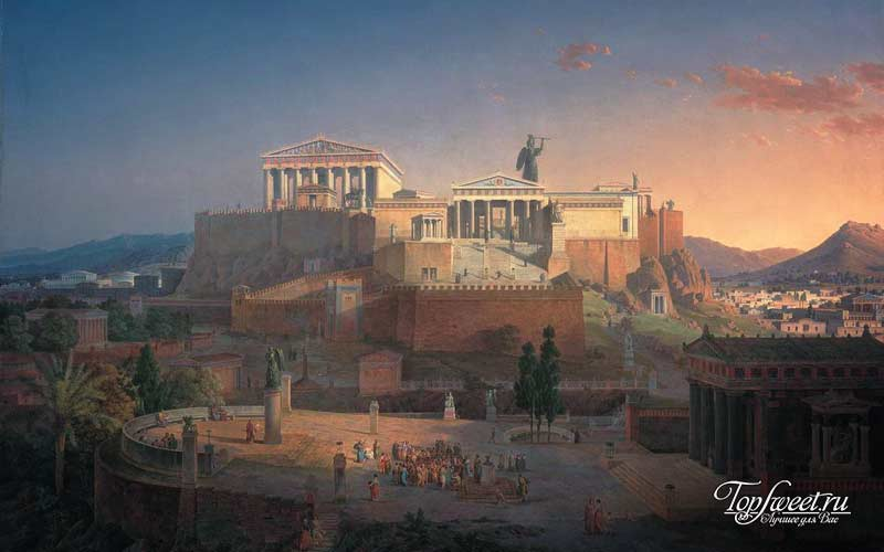Афины. 10 культурных столиц древнего мира