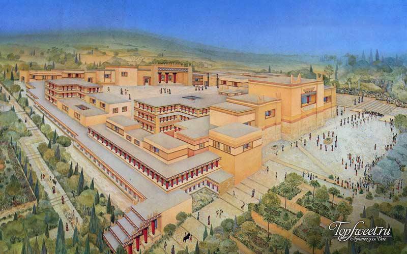 Кносс. Культурные столицы древнего мира