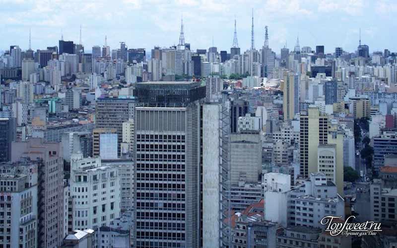 Сан-Паулу. Самые некрасивые города