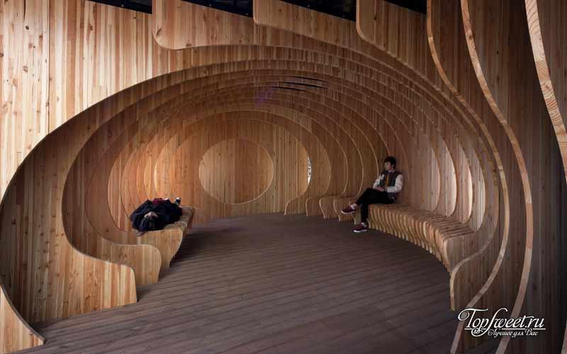 Комната отдыха в сеульском университете
