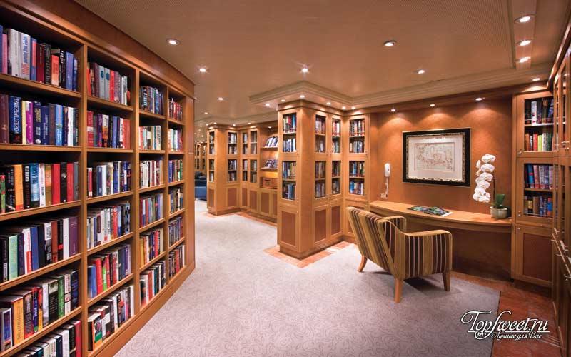 Библиотека на судне