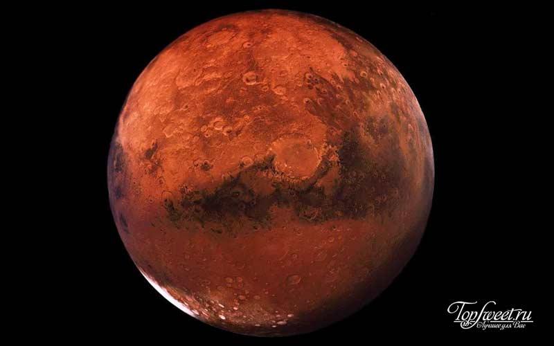 Марс. ТОП-7 мест во Вселенной, где возможно наличие жизни