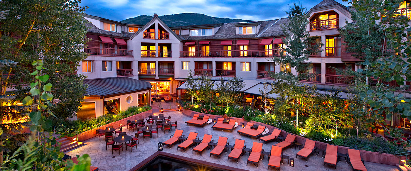 the little nell aspen banner 10 best hotels where you can meet celebrities