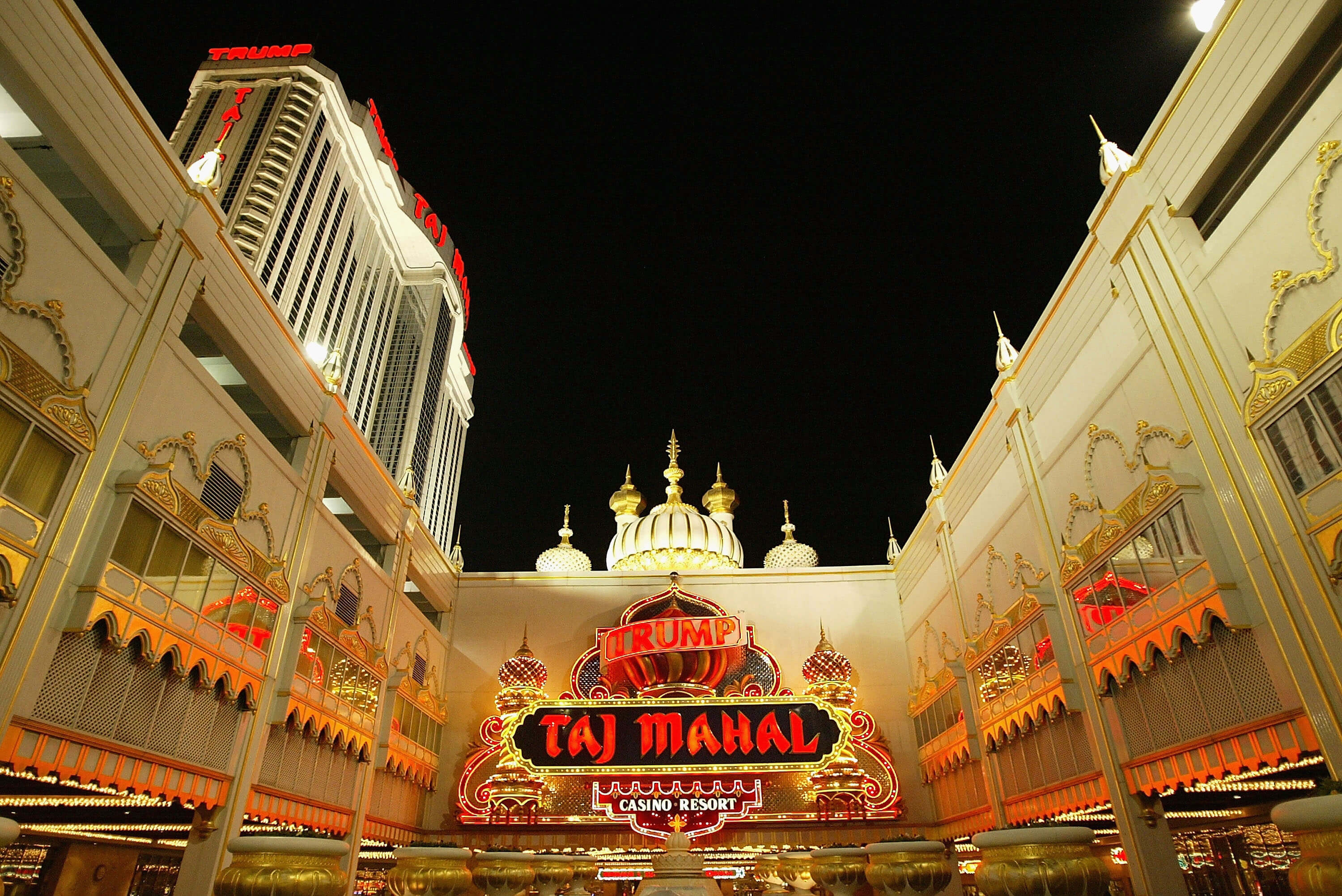 trump taj mahal agn TOP 10 of the most popular cities among fans of gambling